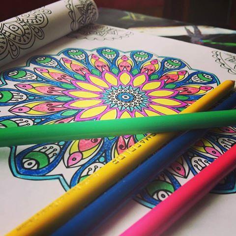 Mandalas para colorear Ana